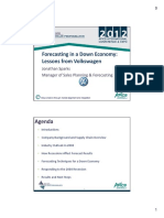 Forecasting in a Down Economy Lessons From Volkswagen_Sparks