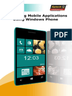 Developing Mobile Applications Using Windows Phone_INTL