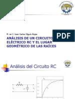 4 Análisis de Un Circuito Eléctricano Rc y El Lugar Geométrico de Las Raíces