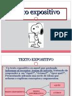 ppt texto expositivo