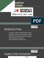 SCM - Maruti