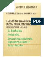 Secuelas de La Asfixia Perinatal