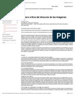 17, Instituto de Estudios Críticos - Lectura crítica del discurso de las imágenes