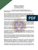 Musica y Medicina - Ene67 - Dr. Rene Lacroix