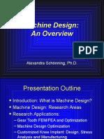 What is Machine Design
