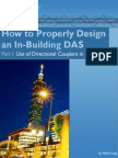 How to Design an in Building DAS Part 1