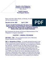 RA-9285- Alternative Dispute Resolution[1]