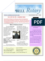 Rotary Newsletter Jun 1 2010