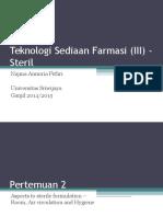 TSF Steril Pertemuan 2.ppt