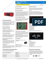 Data Sheet_eataon_remote Alarm Panel
