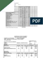 31.Analisis de Precios Unitarios