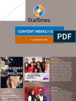 This Week on StarTimes