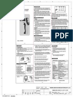 Gm900 Manual | Applied And Interdisciplinary Physics | Laser
