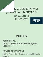 Angeles v. Sec of Justice