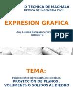 322787772 Clase Proyecciones Diedricas Ppt