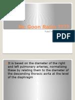 Mc Goon Ratio