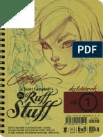 J.scott Campbell Ruff Stuff Sketchbook VOL.1