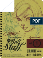 J.scott Campbell Ruff Stuff Sketchbook VOL.1