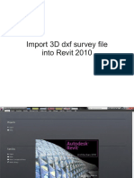 Revit Survey Import Tutorial