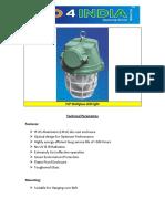 Technical Parameters of FLP Wellglass Light 22092015