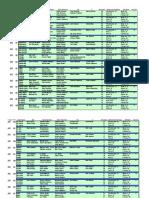 2010 NFL Fantasy Football Draft Board Guide - Cheat Sheet