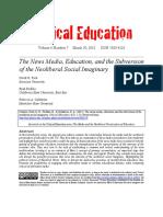The News Media, Education