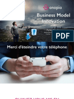 Onopia  - Slides du Workshop Business Model & Disruption 2016