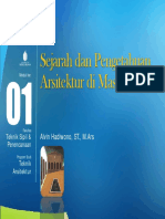 MODUL 1 (ppt) - Sejarah & Pengetahuan Ars di Masa Lampau - MK. Sejarah Arsitektur by Alvin Hadiwono.pdf