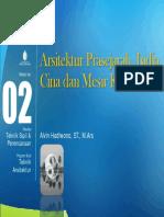MODUL 2 (ppt) - Ars. Prasejarah, India, Cina & Mesir Kuno - MK. Sejarah Arsitektur by Alvin Hadiwono.pdf