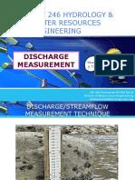 Discharge Measurement