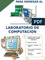 Reglas Del Salon de Computo