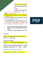 Práctica 3_Cálculo de f en Tubería Asistido Con Polymath