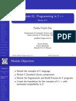 Programming in C++ - Module 01