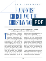 Rodriguez (the Adventist Church and the Christian World) (1)