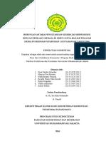 Hubungan Antara Pengetahuan Kesehatan Reproduksi Dengan Perilaku Remaja Di Smpn 1 Kota Banjar Wilayah Kerja Puskesmas Pataruman 1 Kota Banjar