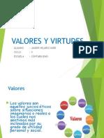 Valores y Virtudes Diapositivas
