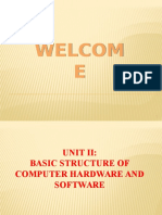 Basic Structure of Computer Hardware and Software (1)