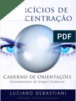 eBook Exercicios Concentracao Caderno Orientacoes