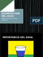 Desinfeccion Del Agua