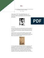 Rafael Ramírez. Oswaldo Reynoso, el secreto mejor guardado de la literatura peruana