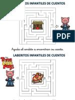 Laberitnos de Cuentos Infantiles Los Tres Cerditos