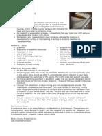 Assignment Research Assignment _Summer 2010