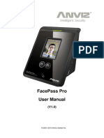 231564 Anviz FacePassPro UserManual V1.0 en 20131104
