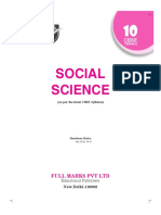 full marks social science class 10