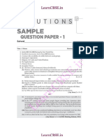 Cbse Class 10 Sample Papers Sa1 Solved Social Science 01solutions