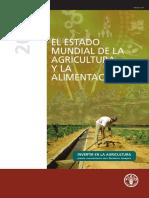 Estado Mundial de La Agriocultura