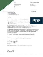 CN conteste la demande d'accès à l'information