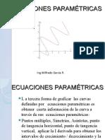Ecuaciones Paramétricas  MB146