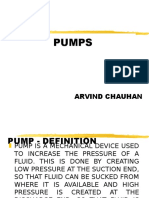 Presentation of Pump