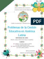 4 Problemas de La Gestión Educativa en América Latina